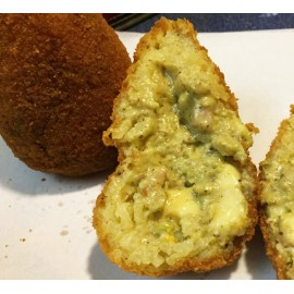 Arancini aux pistaches 210g (précuits et surgelés)