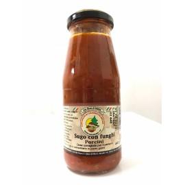 Sauce tomate de calabre aux cèpes