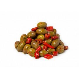 Olives vertes de Calabre 500g